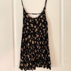 Brandy Melville sunflower open back dress